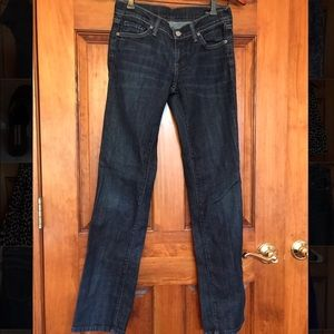 Citizens of humanity size 26 jeans dark wash